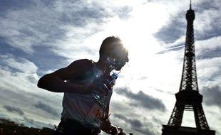 Le Trocadéro pour être le point de départ ou d'arrivée du marathon.