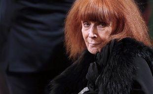 La styliste française Sonia Rykiel a été décorée de