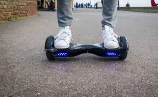 Illustration d'un hoverboard