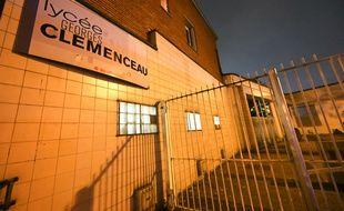 Le lycée Clémenceau à Villemomble où une jeune fille a tenté de se suicider.