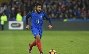 Nabil Fekir, ici à Lens le 15 novembre pour le match amical France-Côte d'Ivoire (0-0) durant lequel il a disputé la deuxième mi-temps.