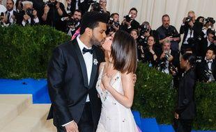 The Weeknd et Selena Gomez au Met Ball 2017
