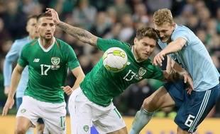 L'Irlandais Connor Hourihane avec la sélection nationale.