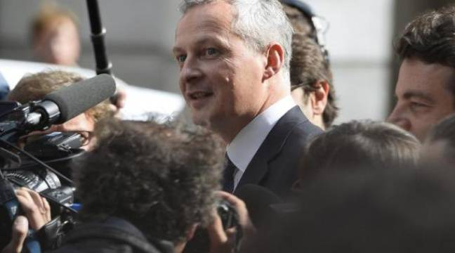 video bruno le maire pas candidat aujourd hui aux primaires droite. Black Bedroom Furniture Sets. Home Design Ideas