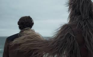 Capture d'écran du teaser de «Solo: A Star Wars Story».