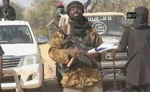 Capture d'écran d'une vidéo diffusée par Boko Haram le 20 janvier 2015, montrant le leader du groupe islamiste Abubakar Shekau