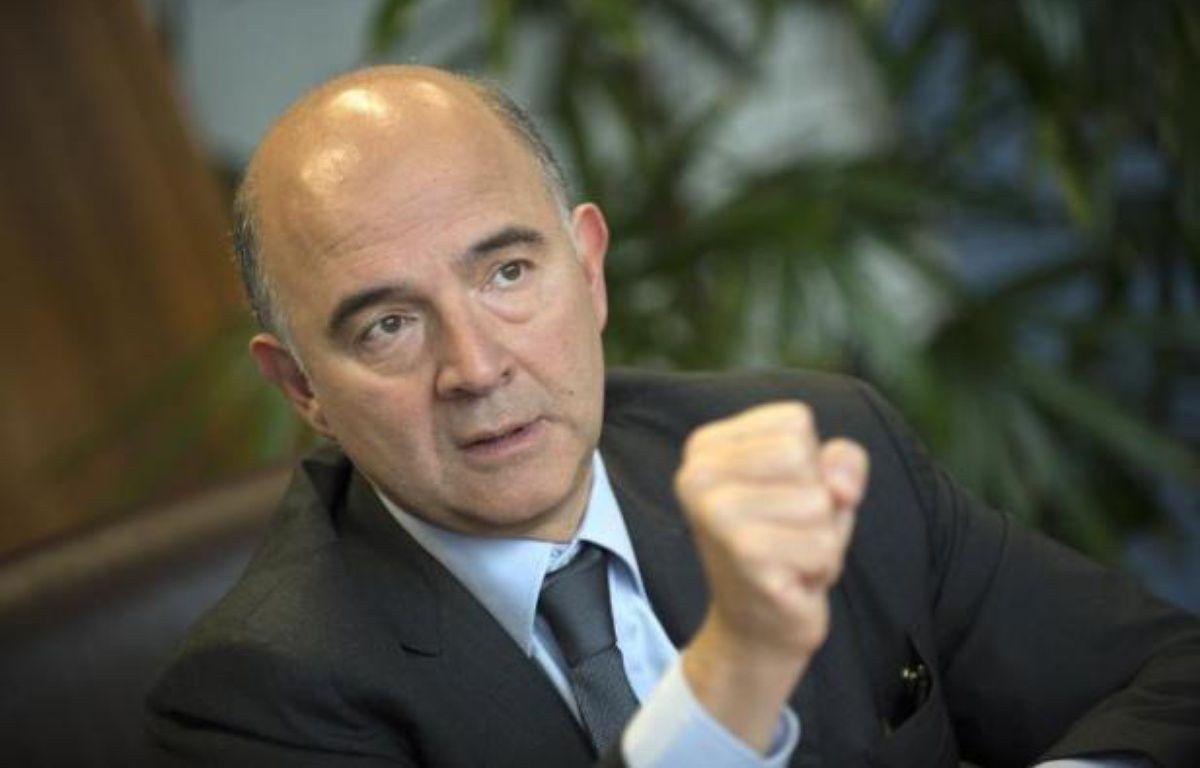 Pierre Moscovici, commissaire européen aux Affaires économiques, à Bruxelles le 5 novembre 2014 – John Thys AFP
