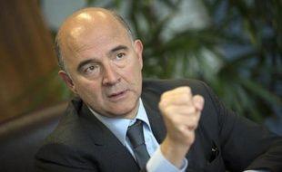 Pierre Moscovici, commissaire européen aux Affaires économiques, à Bruxelles le 5 novembre 2014