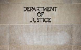 Le département américaine de la Justice, à Washington (illustration).