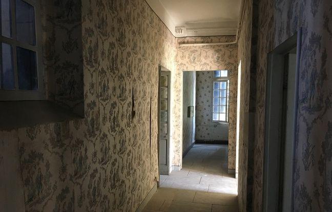 Dans la maison du domaine de Méric, résidence d'été des Bazille, à Montpellier.