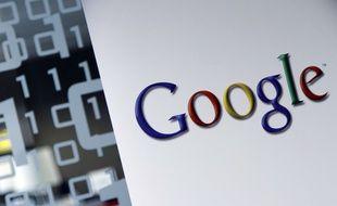 Le logo de l'entreprise américaine Google.