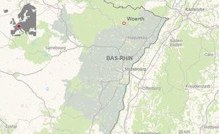 Woerth, Bas-Rhin: Un motard meurt dans une collision avec une voiture