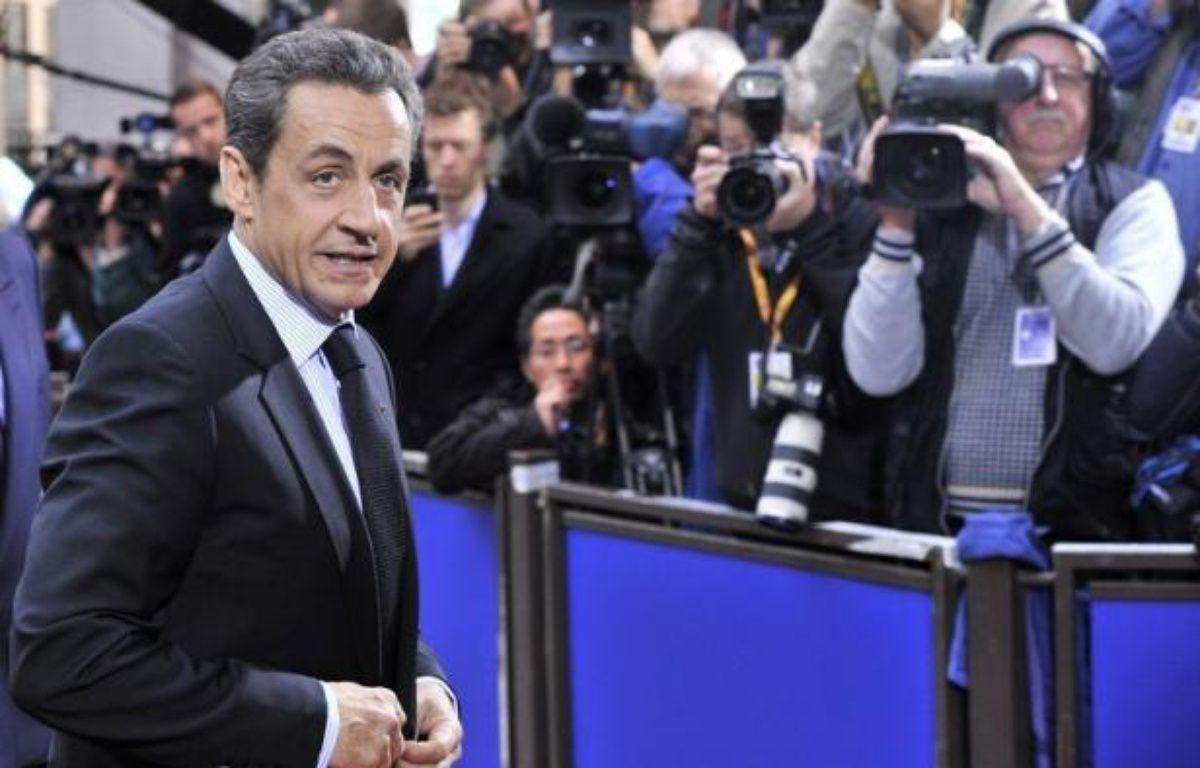 Les chefs d'Etat et de gouvernement de l'UE ont entamé mercredi à Bruxelles leur second sommet en 72 heures pour tenter d'apporter une réponse à la crise de la dette qui déstabilise la zone euro. – Georges Gobet afp.com