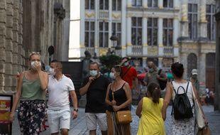 La Grand Place de Bruxelles, le 12 août 2020.