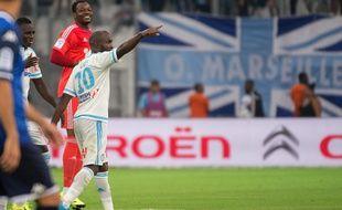 Lassana Diarra à Marseille le 23 août 2015