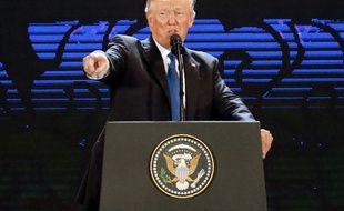 Donald Trump en déplacement à Danang, au Vietnam