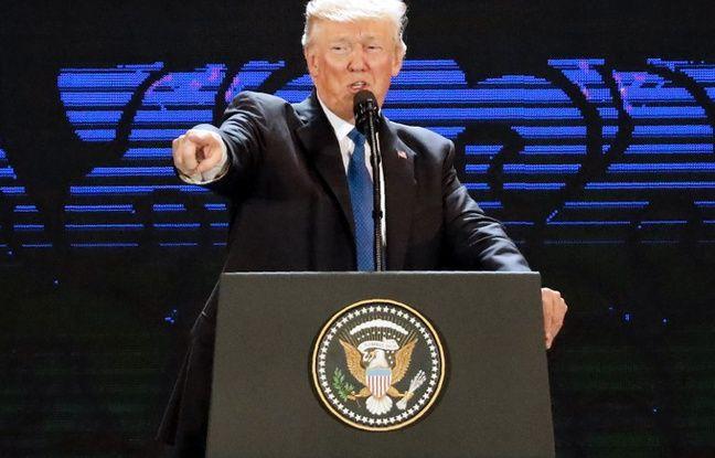 nouvel ordre mondial | Donald Trump dénonce «les fantasmes» du «dictateur» de Pyongyang