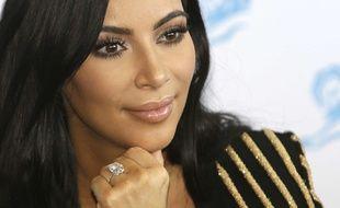 La bague que Kim Kardashian s'est faite dérober