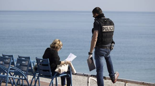Un « cri d'alarme » face au relâchement dans le confinement à Nice