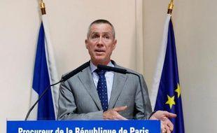 Le procureur de Paris François Molins lors d'une conférence de presse dimanche 1er juin 2014