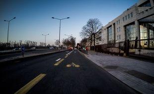 Grenoble: Un juge d'instruction saisi après l'accident mortel d'une cycliste (illustration)