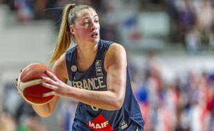 Alexia Chartereau, ici sous le maillot de l'équipe de France en février 2020.