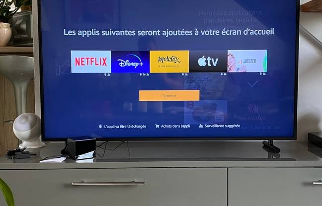 IL est possible de personnaliser l'écran d'accueil du Fire TV Cube 4K en quelques minutes.