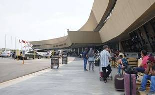 L'aéroport de Manille, aux Philippines.