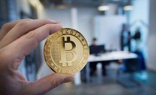 La Maison du Bitcoin à Paris en janvier 2018.
