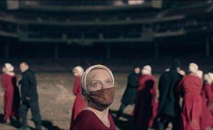 Elisabeth Moss dans la saison 2 de «The Handmaid's Tale».