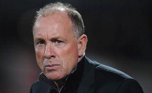 Jean Fernandez, le coach de Montpellier, le 29 septembre 2012 à Nancy.