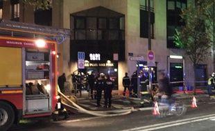 Incendie au magasin tati à Bordeaux le 26 novembre 2015
