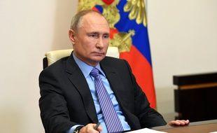 Le président russe Vladimir Poutine, le 14 décembre 2020.