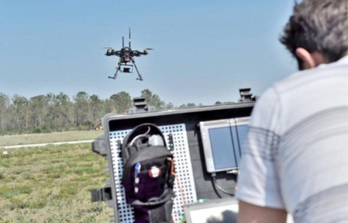 Le drone fournit des informations précises sur la zone qu'il survole. –  g.arroyo / 20 minutes