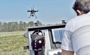 Le drone fournit des informations précises sur la zone qu'il survole.