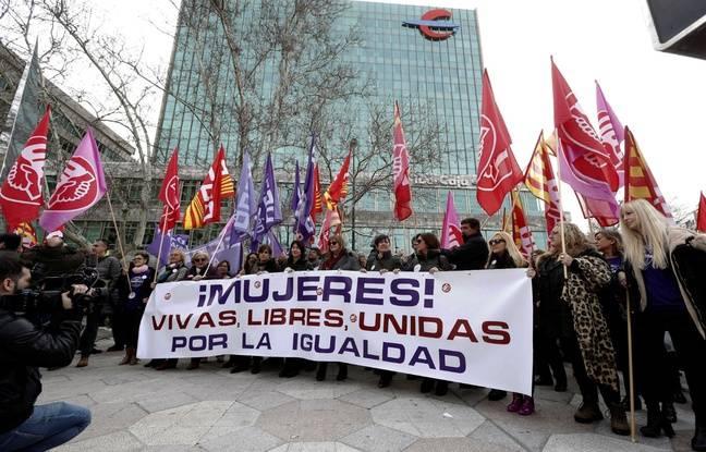 Espagne: Les femmes font grève pour «arrêter le monde» à l'occasion du 8 mars