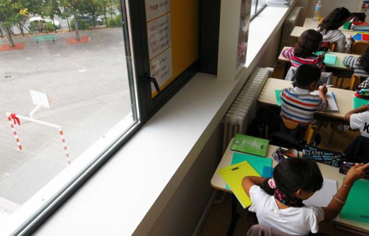 Illustration: Des élèves en classe de primaire. – FRED SCHEIBER/20 MINUTES