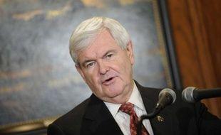 Le candidat à l'investitude républicaine Newt Gingrich.