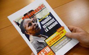 L'hebdomadaire d'extrême droite «Minute» daté du 13 novembre 2013.