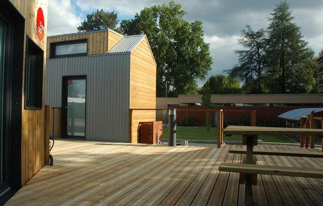 Matthieu Rouveyre propose d'installer près de 200 tiny houses sur le campus bordelais.