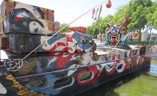 Asie Riderz, canal Saint-Félix