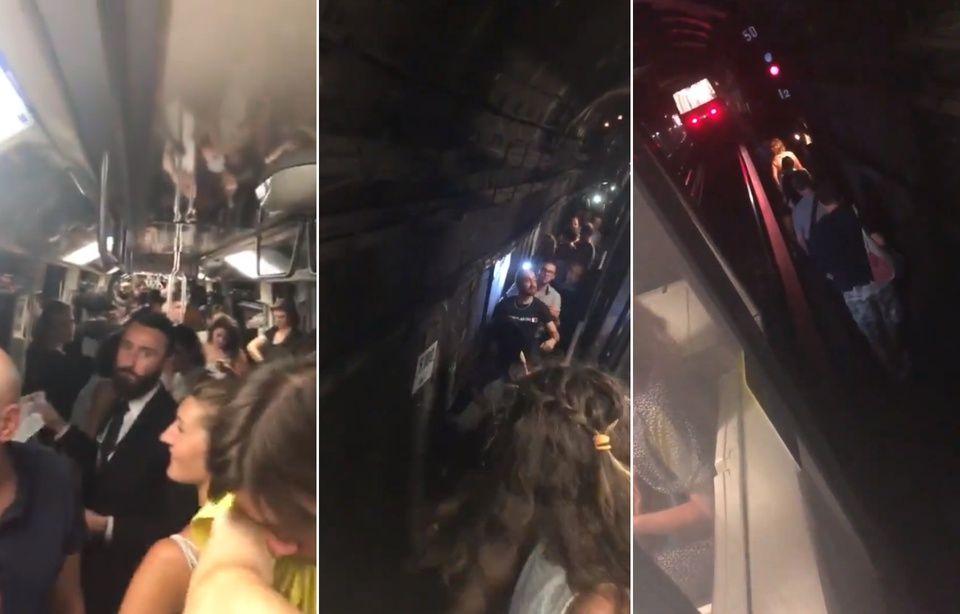 Panne dans le métro à Paris 960x614_centaines-passagers-restes-coinces-metro-ligne-1-31-juillet-2018-descendre-voies