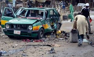 Explosion le 31 juillet 2015 sur le marché de Maiduguri au Nigeria