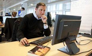 """Arnaud Ramsay, auteur de la """"Laurent Blanc, la face cachée du président""""."""