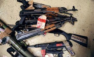 Saisie d'armes à Marseille
