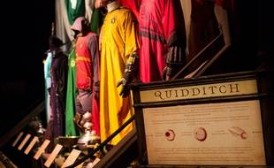 Space dedicated to Quidditch. Exhibition on the characters and the Harry Potter novels themes at the Cite du Cinema. Saint-Denis, FRANCE-02/04/2015./MEIGNEUX_meigneuxB041/Credit:ROMUALD MEIGNEUX/SIPA/1504022103