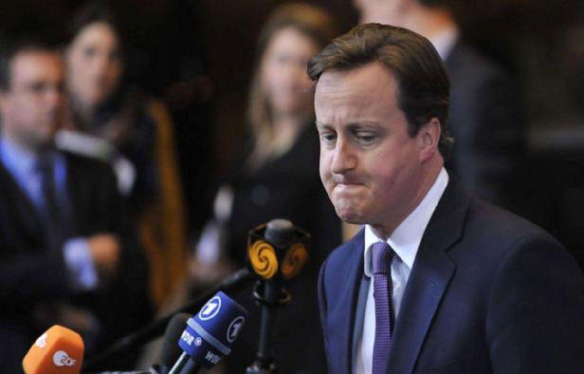 David Cameron – CHINE NOUVELLE/SIPA