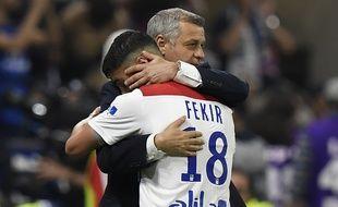 Très compliquée en 2016-2017, la relation entre Bruno Genesio et son capitaine Nabil Fekir a été l'une des réussites majeures de la saison lyonnaise.