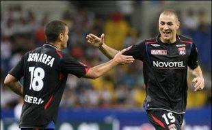 """Parmi les jeunes pousses écloses la saison passée, Michel Hidalgo voit bien Benzema s'épanouir. """"Il n'est pas considéré comme un buteur, mais à Lyon ils vont essayer de le maintenir en pointe"""", analyse-t-il."""