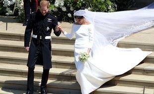 La robe de mariée de Meghan Markle a été créée par la styliste britannique Clare Waight Keller.
